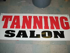 TANNING SALON All Weather Banner Sign NEW 2X5