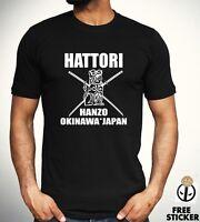 Hattori Hanzo T shirt Samurai Kill Bill Film Movie Inspired Men's Tee S - 4XL