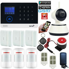 M08 APP WiFi Cloud GSM Wireless Home Security Alarm System+IP Camera+RFID Access