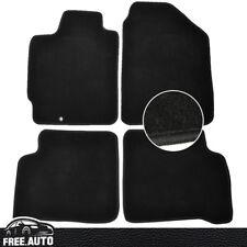 Fits 02-06 Nissan Altima 4Dr 4Pcs Black Nylon Front & Rear Floor Mats Carpet