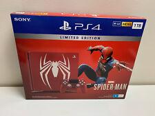 Genuine SONY Playstation 4 Slim 1TB Marvel Spider-Man Limited Console AU STOCK