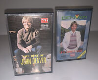 Lot of 2 The Best of John Denver and Denver It's About Time Cassette Tapes