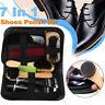 7 in 1 Set Shoe Shine Care Neutral Polish Brush Kit Set Leather Shoes Boots