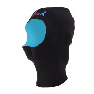 1mm Neoprene Scuba Snorkeling Wetsuit Hood Cap for Surf Diving Keeping Warm