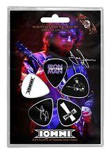 BLACK SABBATH - Tony Iommi Plektrum Set aus 5 Plektren