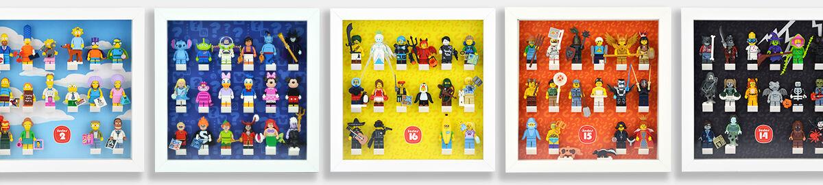 Hedgemaze Lego Display Frames
