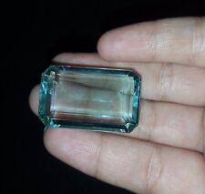 Emerald shape 70.10 Ct Green Amethyst Gemstone eBay