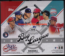 2018 Topps Big League Baseball Factory Sealed Hobby Box