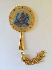 Feng Shui Yellow Tara Mirror for Increasing Prosperity and Abundance