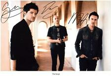 THE SCRIPT AUTOGRAPHED SIGNED A4 PP POSTER PHOTO