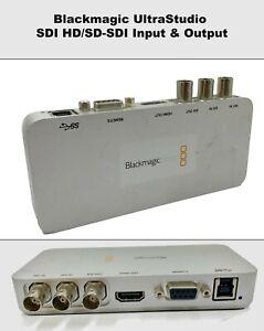 Blackmagic UltraStudio SDI HD/SD-SDI Input & Output