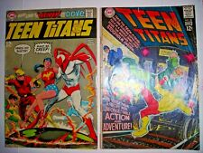 TEEN TITANS 18 21 DC COMICS NOV DEC 1968 GD & MAY JUNE 1969 VG+ NEAL ADAMS MORE