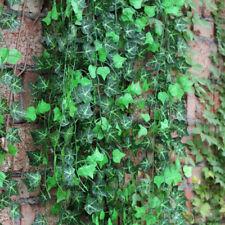 7.8ft Green fake silk Ivy Leaf Garland Plants Vine Foliage Home Decor Flower