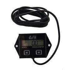 Bougies Moteur Tachymetre numerique Compteur horaire tachymetre Jauge moto  F7Y5