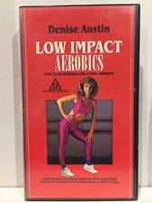 DENISE AUSTIN ~ LOW IMPACT AEROBICS WORKOUT ~ VHS VIDEO