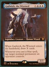 "Magic The Gathering ""Gadwick, the Wizened"" NON-FOIL EXTENDED ART [Eldraine] MTG"