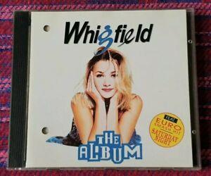 Whigfield ~ The Album ( VSP ) ( Promo Copy ) ( Malaysia Press ) Cd