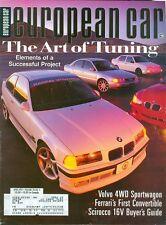 1997 European Car Magazine: Art of Tuning/Volvo 4WD Sportwagon/Ferrari/Scirocco