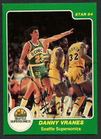Danny Vranes #201 signed autograph auto 1983-84 Star Basketball Trading Card