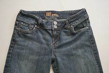 "KUT for the kloth 8 X 33"" L BOOTCUT 58539 FLAP BACK POC  Women Jean Denim"