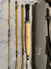 Moonlit Lunar S Glass Fiberglass Fly Rod 6'8� 3wt $225 Retail