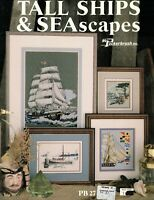 Tall Ships & Sea Scapes 4 Counted Cross Stitch Patterns Projects