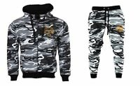 Mens Tracksuit Set Zip Up Top Bottoms Jogging Joggers Gym Sweats Slim Fit Fleece
