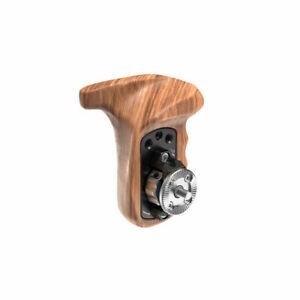 SmallRig Left Side Wooden Handle with Rosette for Camera Shoulder Rig 1891B