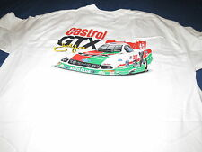 Vintage JOHN FORCE promotional T-shirt CASTROL GTX  SMALL !!!!! FREE SHIPPING @@