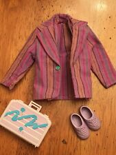 1986 Hasbro Jem ~ Truly Outrageous ~ Rio ~ Replacement Jacket Shoes Briefcase