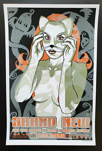 Brand New Concert Poster 2003 Brian Ewing Signed
