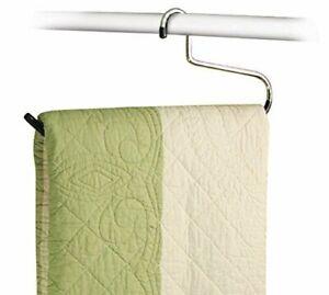 Stock Your Home Blanket Hangers Set of 6 Heavy Duty - Stainless Steel Hanger