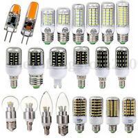 E27 B22 E14 9/15/20/30W 5730 4014 2835 SMD LED Corn Light Candle Globe Lamp