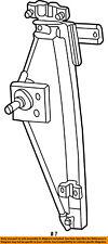 FORD OEM Rear Door-Window Lift Regulator 3L2Z7827009AA