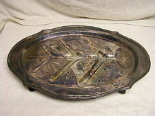 Middletown Silver Co -TREE of Life Meat Platter 1900-1940 Silverplate