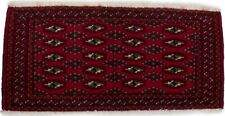 2X4 Small Entryway Tribal Turkoman Handmade Oriental Rug Kitchen Carpet 1'8X3'5