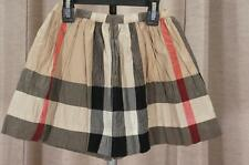 BURBERRY CHECK NEW CLASSIC SKIRT 6Y