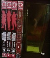 Phantom 1-2, 4, King of Hell 1 Lot of 4 Shonen Manhwa Manga, English, 13+