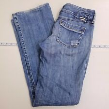 Diesel Ronhar Jeans Womens Size (26) 29 X 31 Blue Denim Light Wash Made in Italy
