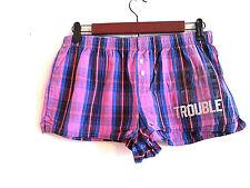 Pink Victoria's Secret Sleep/ PJ/Shorts size XS Pink Purple Blue Black Plaid
