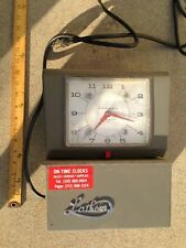Vintage Lathem Time Clock