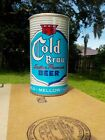 COLD BRAU BY DREWRYS not cold spring STRAIGHT STEEL OLD BEER CAN