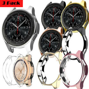 3 Pack TPU Protective Case Cover Shell For Samsung Galaxy Samrt Watch 42mm 46mm