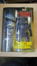 """PLANET OF THE APES ATTAR 7"""" ACTION FIGURE (Hasbro, 2001) New On Card"""