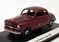 XVM 1/43 Scale Built Kit XVM01 - 1949 Ford Vedette Coupe - Maroon
