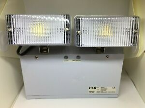EATON GEMINI LED SELF CONTAINED TWIN SPOT EMERGENCY LIGHTS  GMRJLNM