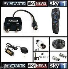 20m global Tv Link / 1-2tb Remoto Y Cable Para visualización Sky en otra habitación
