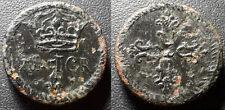 """Louis XIII - Poids monétaire circulaire pour le Franc """"XI DE I GR"""" - Pom.I/316"""