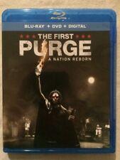 The First Purge (Blu-Ray/DVD Set, 2018) **Horror**