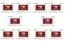 10 x Sony High Definition Dvm63 Mini Dv Hd Blank Camcorder Tapes - Brand New